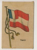 2 Silk Flag Size 5/7 Cms  Tahiti Taiti Cuban Advert Siboney Cigars - Tahiti