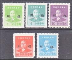 FUKIEN  13-17    * - China