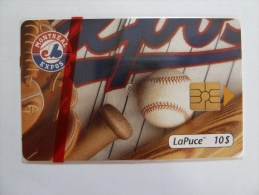 CANADA - Mint Blister - Bell - Low Issue Of 2500 - Montreal Expos - PU 16 - Canada