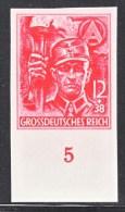 GERMANY  B 293  IMPERF.   ** - Unused Stamps