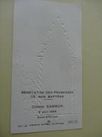 St Affrique Aveyron Renovation Des Promesses De Bapteme Cambon  1966 - Images Religieuses