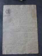 85 Mirville, Boufferé 1847 Procès Etienne Simon Père Et Fils (Frappier)  ; Ref 889 - Documenti Storici