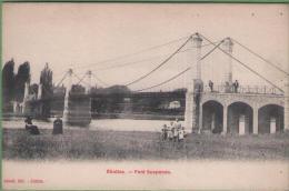 91 ETIOLLES - Pont Suspendu - Frankrijk