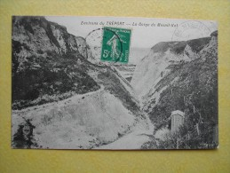Mesnil-Val. La Gorge. - Criel Sur Mer