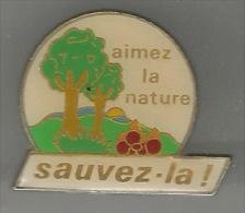 34469-Pin's.association sauvez la foret.nature.