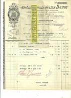 75 - Paris - PARIS - Facture DAMOY - épicerie - 1905 - REF 14 - 1900 – 1949