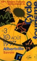 """SPORTS / CYCLISME  """" CYCLE TOURISME  ALBERVILLE 1997   """"   CPM / CPSM 10 X 15 - Cyclisme"""