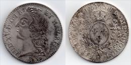 LOUIS  XV  ** ECU  AU  BANDEAU  -  1764  H **  Superbe  Réplique - 1715-1774 Louis XV Le Bien-Aimé