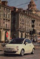 [DC1029] CARTOLINEA - FIAT 500 - IL DEBUTTO DELLA NUOVA FIAT 500 - NATA 50 ANNI FA IL 4 LUGLIO 1957 - Cartoline