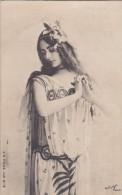 CPA  PHOTO Artistique  Reutlinger  ARTISTE   CLEO De MERODE  DANSE Robe De Scène En Voile  1904 - Artisti