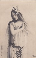 CPA  PHOTO Artistique  Reutlinger  ARTISTE   CLEO De MERODE  DANSE Robe De Scène En Voile  1904 - Artistas