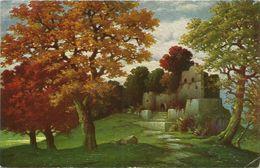 AK Ölimit.-Gemälde W. Hoy Burgruine Degi 1941 #33 - Ansichtskarten