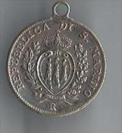 Médaille/Republicca Di S. Marino / 10 Centesimi/ Faisceau De Licteur/ 1938     D501 - France