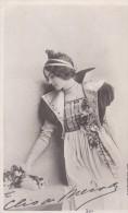 CPA  PHOTO REUTLINGER DANSEUSE  CLEO De MERODE Costume  De Scène  Bouquet - Entertainers