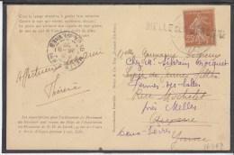 FRANCE De Lorette La Tour 1922 Used Postcard Carte Postale #16469 - Covers & Documents