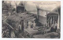 37 - CHATEAURENAULT -TANNERIE - USINE PELTEREAU ENAULT - LES TANNEURS ,AUX ÉCORCES DE CHÊNE - France