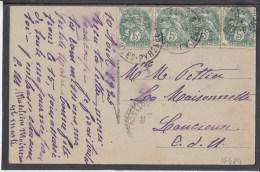 FRANCE Lourdes La Basilique 1925 Used Postcard Carte Postale #16474 - Covers & Documents