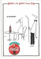 PUBLICITE - COCA COLA - Et Ma Paille ? - Werbepostkarten
