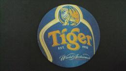 Tiger Beer Coaster - Unused / 02 Images - Beer Mats