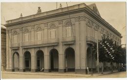 Real Photo Casino Cienfuegos  Advert El Rotary Club De C. 1933 - Kuba