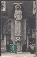 FRANCE Trumeau Cathedrale Musee Sculpture 1910 Used Postcard Carte Postale #16489 - Covers & Documents