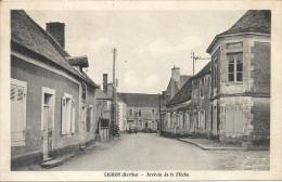 LIGRON (Sarthe) - Arrivée De La Flêche - Cachet Perlé De Courcelles La Forêt - Autres Communes