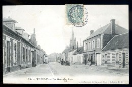 Cpa Du 60 Tricot  La Grande Rue  ..  Maignelay Montigny Clermont   TRIS5 - Maignelay Montigny
