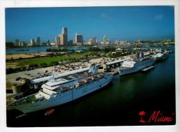 The Port Of Miami Home Of Many Popular Cruises - Ed Bertsch - Vierge - INEDITE - Miami