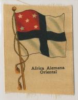 German East Africa Tanganyaka Tanzanie Silk Flag - Namibie