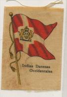 Danish West Indies D.W.I.   Silk Flag Drapeau En Soie Antilles Danoises - Vierges (Iles), Amér.