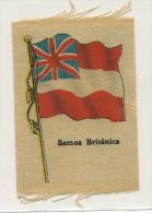 British Samoa   Silk Flag Drapeau En Soie - Samoa