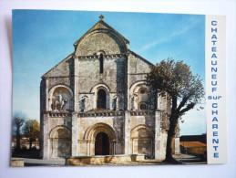 Chateauneuf Sur Charente (16) L'eglise ( 2 Scann ) - Chateauneuf Sur Charente