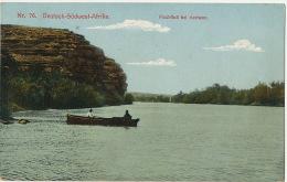 No 76 Deutsch Sudwest Afrika Fischfluss Bei Seeheim Used 1914 From Kolmannskuppe Edit Hubrich - Namibia