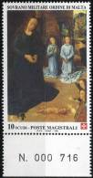 PIA - SMOM - 1994 : Natale - Particolare Dal Trittico Portinari Di Hugo Van Der Goes  - (UN 473) - Arte