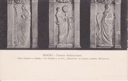 PC Rimini - Tempio Malatestiano - Terza Cappella A Sinistra - Le Scienze E Le Arti (5350) - Rimini