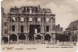Arras - Grand-place - Chateau D'eau - Arras