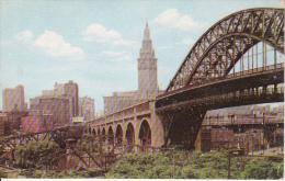 Vintage PC Cleveland - High Level Bridge - Terminal Tower (5355) - Cleveland