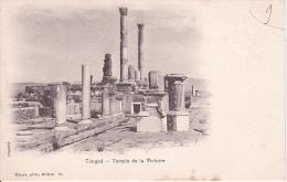 CPA Timgad - Temple De La Victoire - 1903 (5362) - Batna