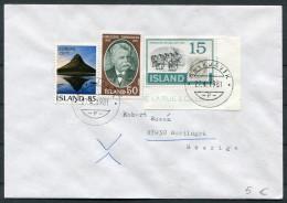 1981 Iceland Reykjavik F Cover - Sweden / Europa Horses - 1944-... Republique