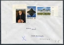 1982 Iceland Reykjavik F Cover - Sweden / Europa Landspitalinn - 1944-... Republique