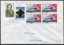 1982 Iceland Reykjavik F Cover - Sweden / Europa Nordic House - 1944-... Republique