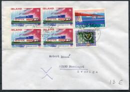1983 Iceland Reykjavik F Cover - Sweden / Nordic House - 1944-... Repubblica