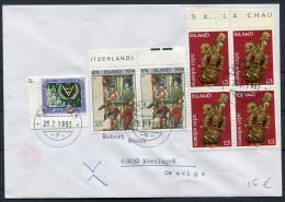 1983 Iceland Reykjavik F Cover - Sweden / Europa - 1944-... Republique
