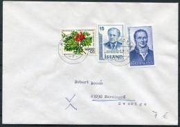 1983 Iceland Reykjavik F Cover - Sweden - 1944-... Repubblica