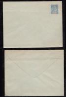 France Nouvelle Caledonie Ca 1892 2 Stationery Mint - Briefe U. Dokumente