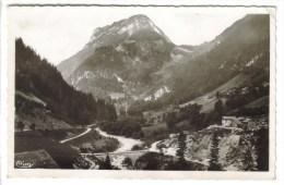 CPSM PETIT BORNAND LES GLIERes (Haute Savoie) - Vallée Du Borne - Frankrijk