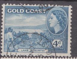 Gold Coast, 1952, SG 159, Used - Gold Coast (...-1957)