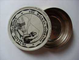 Scatola/scatoletta In Latta/tobacco Tin The Balkan Sobranie Smoking Mixture - Scatole