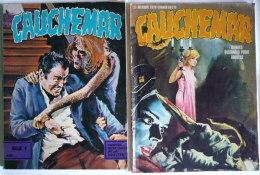 Lot : CAUCHEMAR N°8 + Recueil N°6+7 / BD POUR ADULTES (1972) Les éditions De Poches - Paquete De Libros