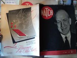 MATCH DU 14 MARS 1940. SUMMER WELLES PUB JOUVENCE DE L ABBE SOURY / PUB BONS D ARMEMENT / LE COMTE CSAKY MINISTRE - Informations Générales
